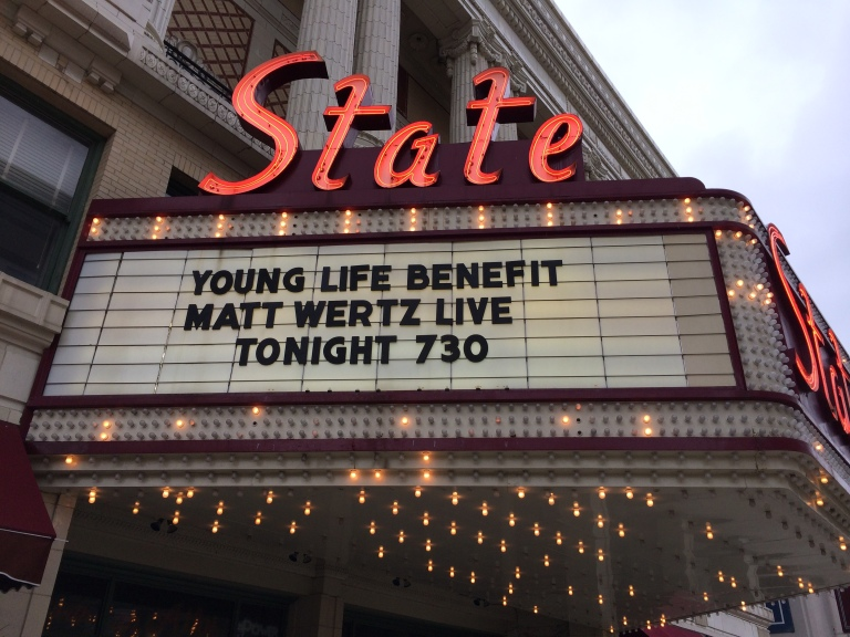 YL Benefit feat. Matt Wertz Tonight